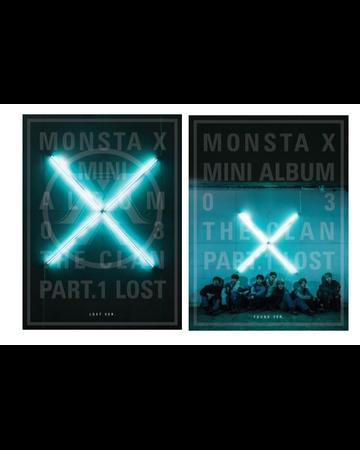 MONSTA X 3rd Mini Album - THE CLAN 2.5 PART.1 LOST (Re-Release)