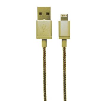 CASE LOGIC CABLE USB METÁLICO PARA IPHONE 3.5FT CL-LP-CA-102-AC