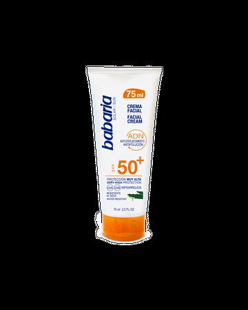 Crema Facial Solar SPF50+ Aloe 75ml babaria 07202