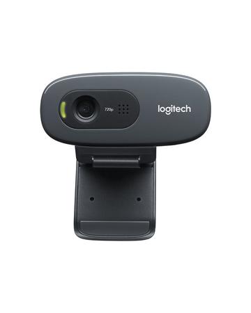 Logitech Cámara Web  HD C270 - Cámara web - color - 1280 x 720 - audio - USB 2.0  960-000694