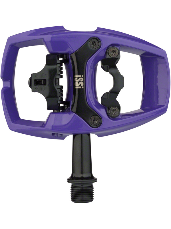 """iSSi Flip II Pedals Single Side Clipless with Platform Aluminum 9//16/"""" Spindal"""