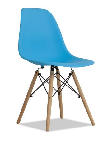 Silla Eames diseño Retro Color Azul