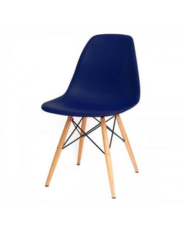 Silla Eames diseño Retro Color Azul Marino